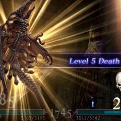 Deathgaze uses Level 5 Death in <i><a href=