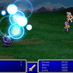 Holy I from <i>Final Fantasy</i> (iPod).