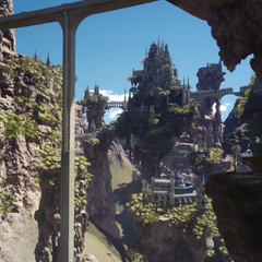 Tenebrae, as it appears in <i>Final Fantasy XV</i>.