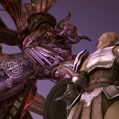 Chaos Bahamut in the <i>Requiem of the Goddess</i> DLC.