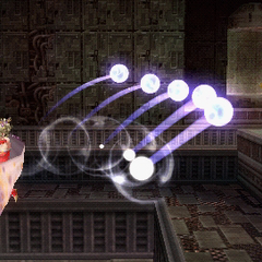 Terra using Holy in <i><a href=