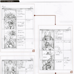 <i>Final Fantasy VII</i> storyboard.