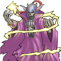 Artwork of Lich for the <i>Dawn of Souls</i> version.