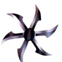 Fuma Shuriken, called Magic Shuriken, in <i><a href=