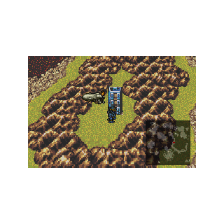 Cultists' Tower on the World Map (GBA).