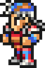 Firion's sprite in All the Bravest.