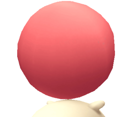 Moogle in game model.