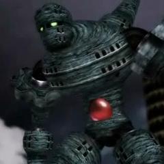 The Giant of Babil in a cutscene (PSP).