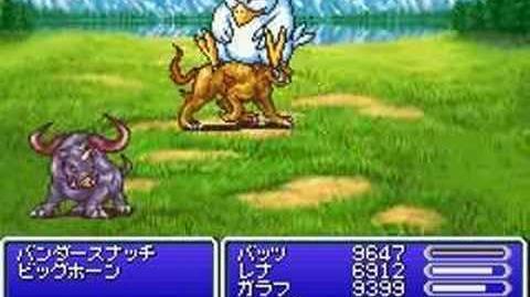 Final Fantasy V Advance Summon - FatChocobo
