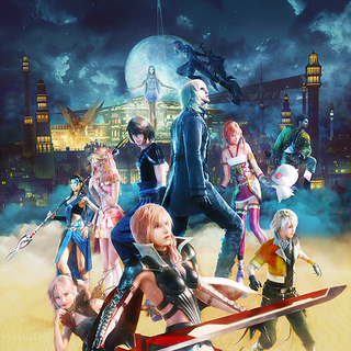 Promotional poster including Caius.