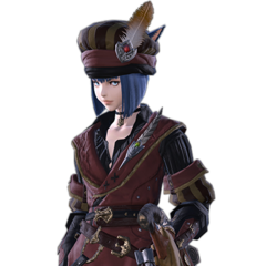 Millking's Set from <i>Final Fantasy XIV: Stormblood</i>.