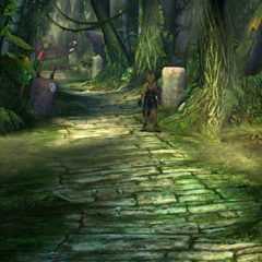 The first area in <i>Final Fantasy X</i>.