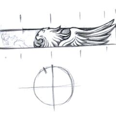 Concept art for Squall's ring.