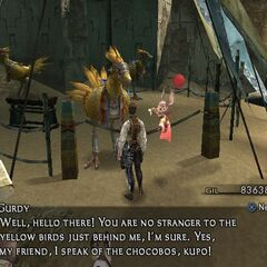 Gurdy's chocobo stable in <a href=