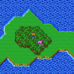 The Phantom Village in the Overworld (GBA).