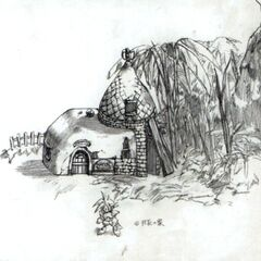 Gongaga concept art.