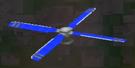 LRFFXIII Blue Propeller