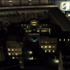 Sector 8 in the opening of <i>Final Fantasy VII</i>.