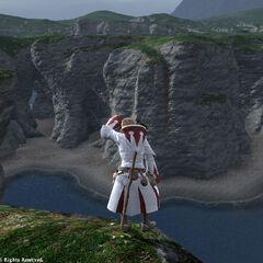 Cliffs in Bloodshore.