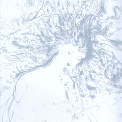 The original acetate print artwork that comes with <i>The Sky</i>.