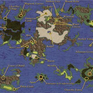 Overworld Map.