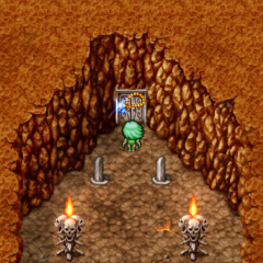 Luca's Necklace in-game (PSP).