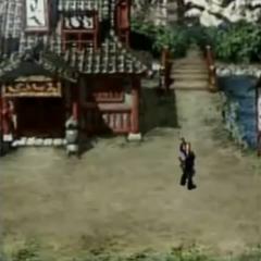 Wutai Village in <i>Before Crisis -Final Fantasy VII-</i>.