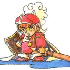 Рисунок оригинального Лукового Рыцаря.