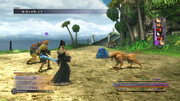 FFX HD New Battle HUD 2