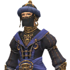 Mirage Jubbah set<br />(BLU)