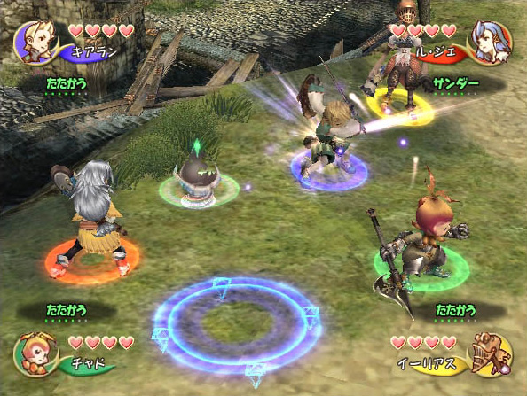 File:Crystal Chronicles gameplay.jpg