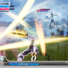 Cloud using Cross Slash in 2015 reboot.