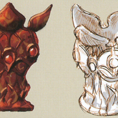 Aroma Vase artwork from <i>The Art of Final Fantasy IX</i> book.