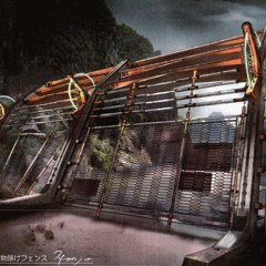 Electric fence concept art.