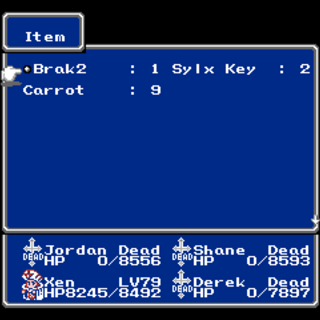 Item menu (NES).