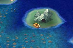 Adamant isle grotto ffiv ios overworld