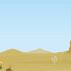 Desert background in <i><a href=