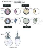 Four Gems of Alexander FFIX Art