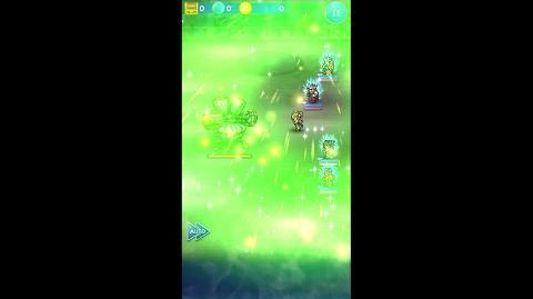 【FFRK】リュック必殺技『マイティGグレート』