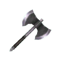 Mythril Axe in <i><a href=