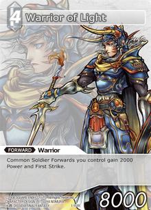 1-151r - Warrior of Light