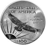 Platinum eagle