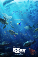 Dory Promo Poster