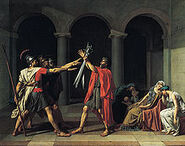 220px-Jacques-Louis David, Le Serment des Horaces