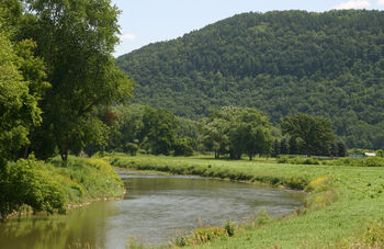 Canisteo river South of Addison