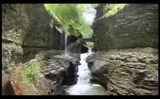 Watkins Glen State Park New York; Rainbow Falls
