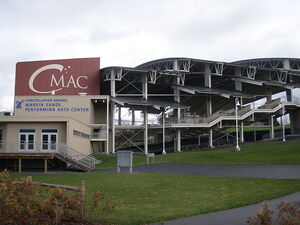 Constellation Brands-Marvin Sands Performing Arts Center CMAC shell