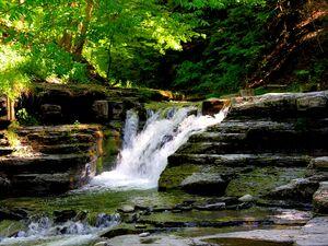 Stony Brook State Park waterfalls