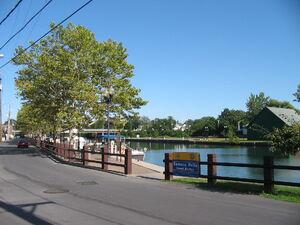 Seneca Falls New York Canal Harbor
