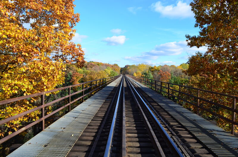 Letchworth rail bridge